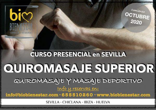 CURSO DE QUIROAMSAJE SUPERIOR EN SEVILLA