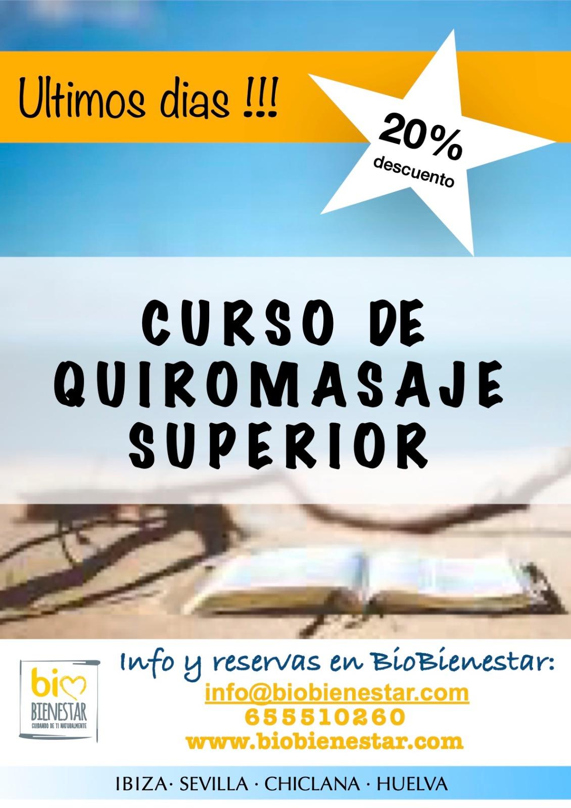 Curso Quiromasaje